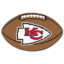 Fanmats 5785 NFL - Kansas City Chiefs Football Rug 20.5