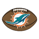 Fanmats 5792 NFL - Miami Dolphins Football Rug 20.5
