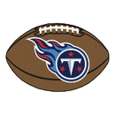 Fanmats 5863 NFL - Tennessee Titans Football Rug 20.5