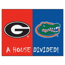 Fanmats 6030 Georgia - Florida House Divided Rug 33.75