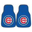 Fanmats 6466 MLB - Chicago Cubs 2-pc Carpeted Car Mats 17