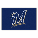 Fanmats 6491 MLB - Milwaukee Brewers Starter Rug 19