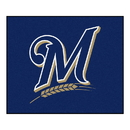Fanmats 6492 MLB - Milwaukee Brewers Tailgater Rug 59.5