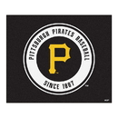Fanmats 6499 MLB - Pittsburgh Pirates Tailgater Rug 59.5