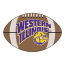 Fanmats 652 Western Illinois Football Rug 20.5