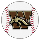 Fanmats 663 Western Michigan Baseball Mat 27