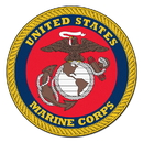 Fanmats 6683 Marines Round Rug 44