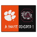 Fanmats 7098 Clemson - South Carolina House Divided Rug 33.75