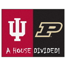 Fanmats 7099 Indiana - Purdue House Divided Rug 33.75