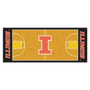 Fanmats 8172 Illinois Basketball Court Runner 30