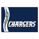 Fanmats 8231 NFL - Los Angeles Chargers Uniform Starter Rug 19