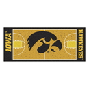 Fanmats 8257 Iowa Basketball Court Runner 30