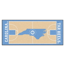Fanmats 8260 North Carolina Basketball Court Runner 30