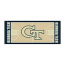 Fanmats 8454 Georgia Tech Basketball Court Runner 30