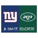 Fanmats 8463 NFL - Giants - Jets House Divided Rug 33.75