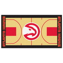 Fanmats 9197 NBA - Atlanta Hawks Large Court Runner 29.5x54