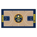 Fanmats 9247 NBA - Denver Nuggets Large Court Runner 29.5x54