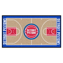 Fanmats 9256 NBA - Detroit Pistons Large Court Runner 29.5x54