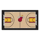 Fanmats 9314 NBA - Miami Heat Large Court Runner 29.5x54