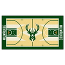 Fanmats 9322 NBA - Milwaukee Bucks Large Court Runner 29.5x54