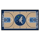 Fanmats 9330 NBA - Minnesota Timberwolves NBA Court Large Runner 29.5x54