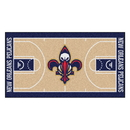 Fanmats 9346 NBA - New Orleans Pelicans Large Court Runner 29.5x54