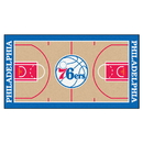 Fanmats 9370 NBA - Philadelphia 76ers Large Court Runner 29.5x54