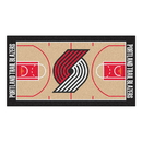 Fanmats 9386 NBA - Portland Trail Blazers Large Court Runner 29.5x54
