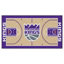 Fanmats 9394 NBA - Sacramento Kings Large Court Runner 29.5x54