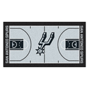 Fanmats 9402 NBA - San Antonio Spurs Large Court Runner 29.5x54