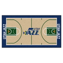 Fanmats 9426 NBA - Utah Jazz Large Court Runner 29.5x54