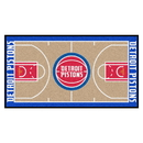 Fanmats 9486 NBA - Detroit Pistons NBA Court Runner 24x44
