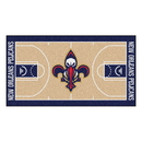 Fanmats 9498 NBA - New Orleans Pelicans NBA Court Runner 24x44