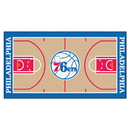 Fanmats 9501 NBA - Philadelphia 76ers NBA Court Runner 24x44