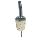 Spill-Stop 285-30 Chrome Tapered Pourer w/Gallon Cork