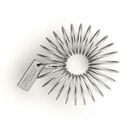 Spill-Stop 800-00 Bonzer® Jerry Spring Whisk Stainless Steel