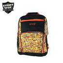 Streetwise Security Products EBBO Emoji Bulletproof Backpack ORANGE