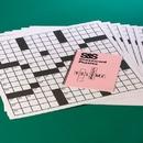 S&S Worldwide Giant Crossword Puzzles Set 4