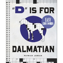 Sterling Dalmatian Easy Crossword Puzzle Book