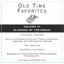 Old Time Favorites Sing-Along Vol. 3 Cd