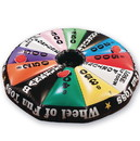 S&S Worldwide Wheel of Fun Inflatable Toss Game