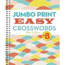 Sterling Jumbo Print Easy Crosswords Book 8
