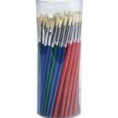 S&S Worldwide Bristle Brush Assortment Pack, White