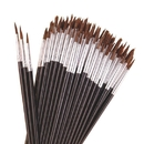 Color Splash Pointed Round Brushes