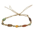 S&S Worldwide Natural Cord Necklace and Bracelet Craft Kit