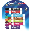 Expo Broad Chisel Tip Dry Erase Markers