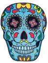 Big Mouth Toys® Giant Sugar Skull Beach Towel or Blanket
