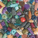 S&S Worldwide Old World Moroccan Style Beads 1-lb Bag
