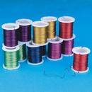 S&S Worldwide Metallic Colored Craft Wire
