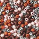 S&S Worldwide Sport Bead Assortment Pk/600